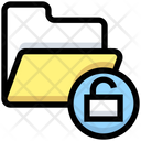 Unlock Folder Unsecure Folder Folder Icon