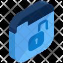 Folder Unlock Insecure Icon