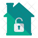 Unlock House Home Icon