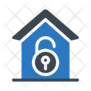 Unlock House Security Icon