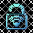 Unlock Key Wifi Smarthome Technology Icon
