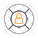 Unlock Safety Protection Icon
