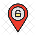 Location Pin Site Venue Icon