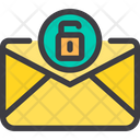 Unlock Unlock Mail Unsafe Mail Icon
