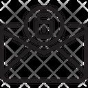 Unlock Unlock Mail Unsafe Mail Icon