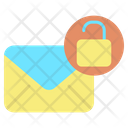 Unlock Email Unlock Mail Unlock Letter Icon