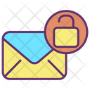 Unlock Mail Icon