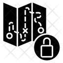 Unlock Map Icon