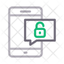 Unlock Message Icon