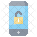 Unlocked Lock Security Icon