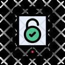 Unlock Mobile Open Icon