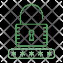 Unlock Password Security Icon