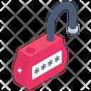 Unlock Password Icon