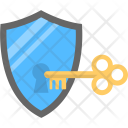 Unlock security shield Icon