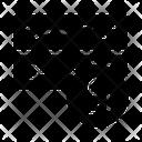 Unlock Server Security Icon