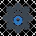 Unlock Setting Gear Icon