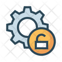 Setting Unlock Gear Icon