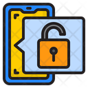 Unlock Smartphone Icon