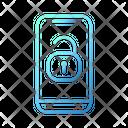 Unlock Smartphone Smarthome Technology Icon