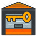 Unlock storage Icon