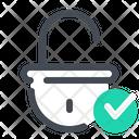 Unlock Successful Icon