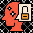 Unlock Thinking Human Icon