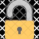 Unlocked Open Safety Icon
