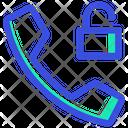 Unlocked Telephone Phone Icon