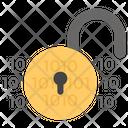 Unlocked Data Lock Unlocked Unlocked Padlock Icon