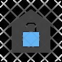 Unlocked house Icon