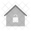 Unlocked house Icon