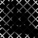 Unlocked Padlock Icon