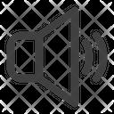 Unmute Volume Audio Icon