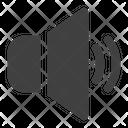 Unmute Multimedia Audio Icon