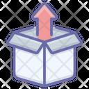 Unpacking Open Cardboard Open Package Icon