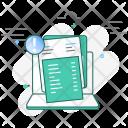 Unpaid Invoice Icon