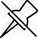 Unpin Icon