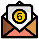 Unread email messages Icon
