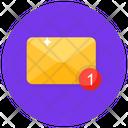 Inbox New Mail Unread Message Icon
