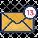 Inbox Messages Unread Mails Icon