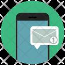 Mobile Phone Unread Icon