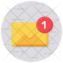 Inbox Unread Messages Unread Mails Icon