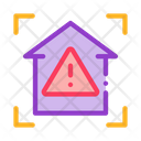 Unsafe Home Detection Icon