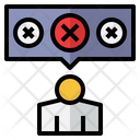Unsatisfied Feedback Crm Icon