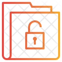 Unlock Key Folder Icon