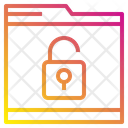 File Protection Technology Icon