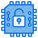 Chip Protection Technology Icon
