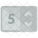 Unselected Number Items Icon