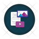 Unstructured Information Icon