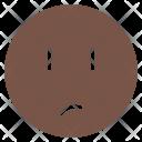 Unsure Mood Face Icon